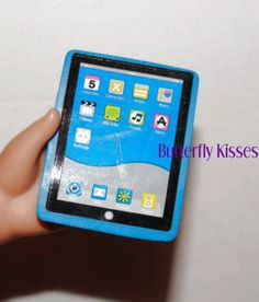 Eraser Touch Tablet Computer Doll Clothes Made For 18 inch American Girl Doll B