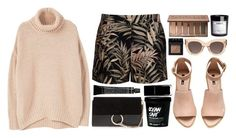 """LOCO"" by mariimontero ❤ liked on Polyvore featuring Chloé, Ted Baker, H&M, CÉLINE, MANGO, Urban Decay, NARS Cosmetics and Grown Alchemist"