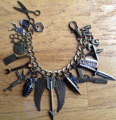 Zombie Apocalypse Charm Bracelet ZA436 8 of by NormanJewelry