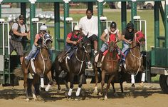 Morning works at Colonial Downs