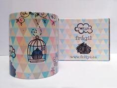 foltys vs estrella & flequi: taza ilustrada personalizada | custom illustrated mug