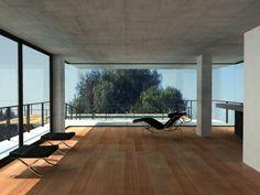 Ricardo Sargiotti con x-arquitectos anteproyecto casa CD / 2006 vista interior