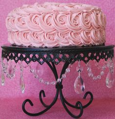 Buttercream Bakehouse: Moscato Cake with Strawberry Frosting