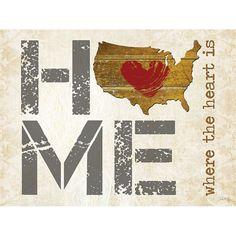 Home - Where the Heart is II - artwork by Penny Lane Artist Marla Rae