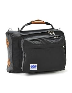 New for Spring 2015 - black Getaway with brown bison leather from Hitchkiss, CO.http://maddenequipment.com/product/getaway-black/