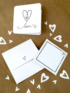 Mini love note kit designed by Jen Goode