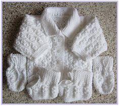Souprava 03, vel. 0 až 3 měsíce Sweaters, Baby, Fashion, Long Scarf, How To Knit, Moda, Fashion Styles, Sweater, Baby Humor
