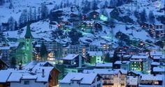 Красивые зимние города