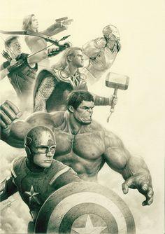Avengers by ~Arronyym on deviantART