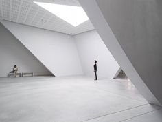 Teatrino Of Palazzo Grassi - Picture gallery Tadao Ando, Concrete Floors, Stairs, Indoor, Flooring, Interior Design, Architecture, Building, House