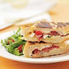 Classic Italian Panini w/Prosciutto & Fresh Mozzarella-American Family