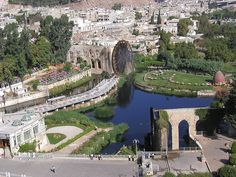 The Giant Norias of Hama – Magnificent Waterwheels of the Past ~ Kuriositas