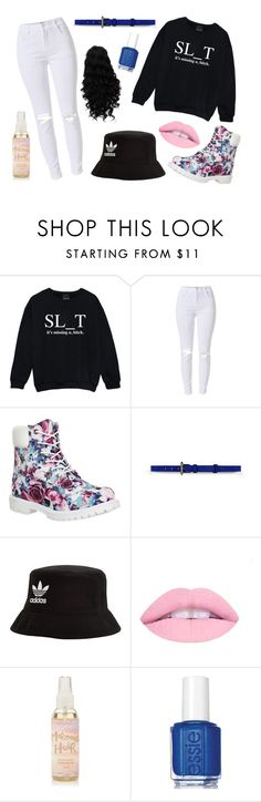 """""""Sass is more"""" by ashleyk0214 on Polyvore featuring Kale, Timberland, Barbara Bui, adidas Originals and Essie"""