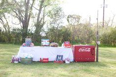 Coca Cola table station at wedding  Keywords: #coca-colaweddings #jevelweddingplanning Follow Us: www.jevelweddingplanning.com  www.facebook.com/jevelweddingplanning/