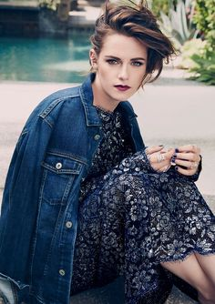 ☆ Kristen Stewart | Photography by Tesh | For Marie Claire Magazine US | August…