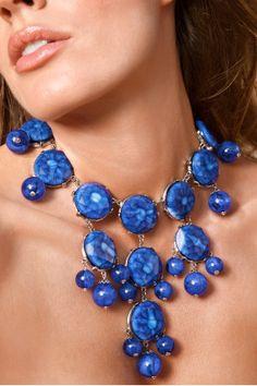Bold teardrop necklace by Boston Proper