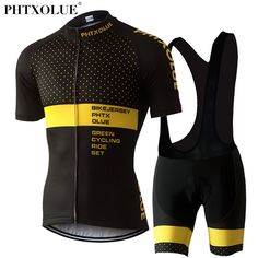 94ce096c62 Phtxolue Cycling Clothing Cycling Sets Bike Clothing/Breathable Men Bicycle  Wear Spring Summer Short Sleeve