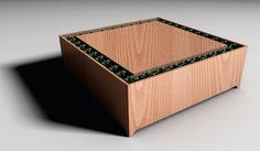 Anamesa (coffee table + herb garden)