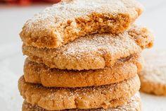 Cinnamon Sugar Cookies Recipe — Eatwell101 Cinnamon Sugar Cookies, Soft Sugar Cookies, Keto Cookies, Cheesecake Fat Bombs, Lemon Cheesecake, Baking Recipes, Cookie Recipes, Biscuit Sandwich, Best Sugar Cookie Recipe