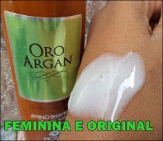 Shampoo Sem Sulfato Oro Arga Bioderm ,resenha completa!   Feminina e Original ♡
