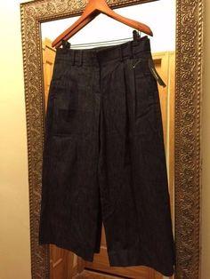 DKNY Culottes Pants Size 8 Black  #DKNYJeansCulottes #DKNY #Culottes #DKNYCulottes #DonnaKaran #DonnaKaranNewYork #DKNYPants #DKNYWomens #Womens #Pants #Size8