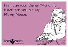 I can plan your #Disney World trip faster than you can say Mickey Mouse. @Breezy Ginsberg