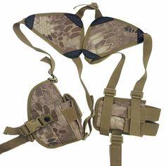 Hot Sale Nylon Holster Airsoft / Pistol Gun Double Shoulder Holster