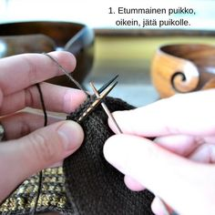 Silmukoimalla päätteleminen - kaksi tapaa - Neulovilla Knit Crochet, Arrow Necklace, Knitting, Crocheting, Jewelry, Fashion, Crochet Hooks, Ganchillo, Jewlery