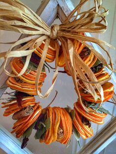 Got a little creative with our dried chiles and oranges!