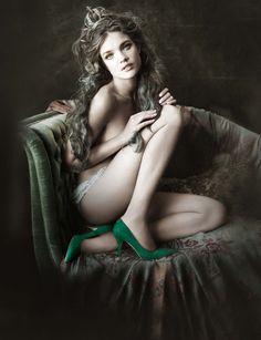 Natalia Vodianova by Paolo Roversi.