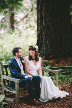 Berkeley Woodland Wedding