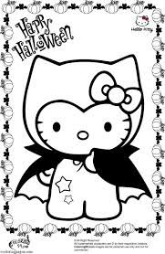 Image result for hello kitty halloween coloring pages to print