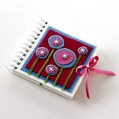 Decorated mini-notebook  sc 1 st  Pinterest & 256 best Decorating books Bibles folders books ... images on ...