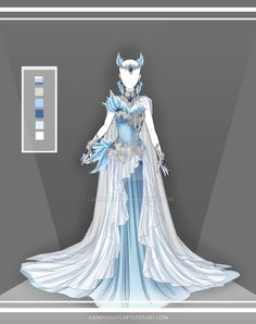 Adoptable Outfit OTA by LaminaNati on DeviantArt - Adoptable Outfit OTA by LaminaNati. Dress Drawing, Drawing Clothes, Fashion Design Drawings, Fashion Sketches, Illustration Mode, Poses References, Fantasy Dress, Fantasy Hair, Fantasy Makeup