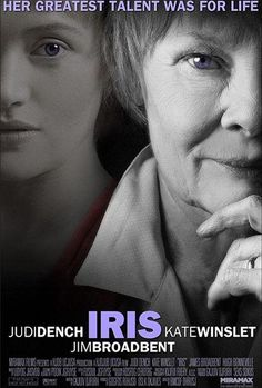 Judi Dench and Kate Winslet star with Jim Broadbent in Iris, the story of Iris Murdoch