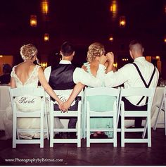 Cute Wedding Reception Photo