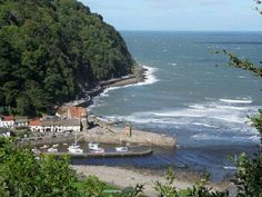 Love lynmouth in Devon, nice place to visit
