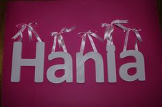 Letters for little Hania