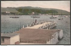 Prince of Wales Pier, Falmouth, Cornwall, c.1910 - Frith's Postcard