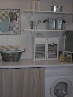 what a lovely laundry room