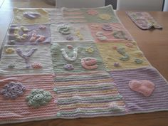 Crochet baby blanket 1.  Own project