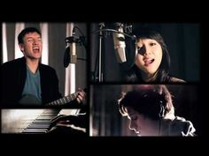 """Jake Bruene and Clara C (with Kevin Olusola on cello), """"Don't You Wanna Stay"""""""