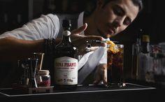 P-Santi cocktail da aperitivo preparato con china Pisanti