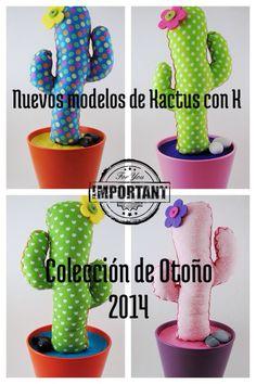 Nuevos modelos de Kactus con K para la Colección de Otoño 2014. Pronto podrás hacerte con el tuyo en nuestra nueva tienda online de Etsy. #cactus #cactusdetela #tela #fabric #fleamarket #market #handcraft #craft #hamdmade #nuevo #modelo #diseños #lunares #corazones #colores #patchwork #producto #present #regalo #otoño #temporada #organizador #hanger #colgador #color #espirales #rosas #verdes