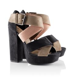 h&m; platform sandals