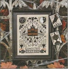 Nevermore is the title of this cross stitch pattern from The Prairie Schooler.