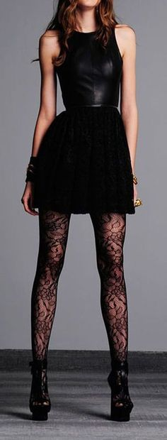 Leather & Lace ♥