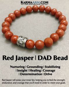 Fathers Day Gifts  Beaded Bracelets  Red Jasper will stoke your inner fire, helping you to find the strength, endurance, and courage that you'll need in order to meet your goals.   #Jaspers #Red  BoHo Yoga Bracelets. #Dad #Meditation Jewelry.  Beaded Bracelets #Energy #BoHo #BoHoBracelets #Jewelry. #Auras #MensBracelets #WomensJewelry #Bracelets #Gifts #Chakras #Yoga #MommyBlog #Happy #YogaBracelets #MensBracelets #Reiki #Wisdom #BoHoJewelry #MensJewelry #Magic #Keto #Bea