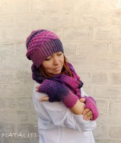 knitted hat, crochet hat, hat, knit accessories, cap, scarf, hat for woman, hat for girl, winter hat, knitting, crochet, hand made http://www.livemaster.ru/tayra-2011?view=profile