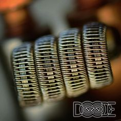 """""""Staple Staggered Fuse Clapton 26g #AN80/36g N80 - Staggered Fuse 5x .5mm KA1 ribbon in the center Dual 4 wrap - 3mm = 0.1Ω This is aesthetically one of…"""""""